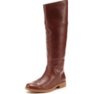 7 For All Mankind Women's Leather Darby Boots